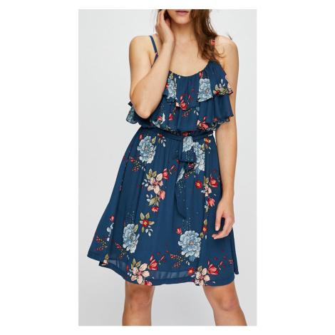 Šaty s barevnými květy PEPE JEANS PL952338 FLORA