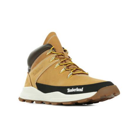 Timberland Brooklyn Sneaker Boot Hnědá
