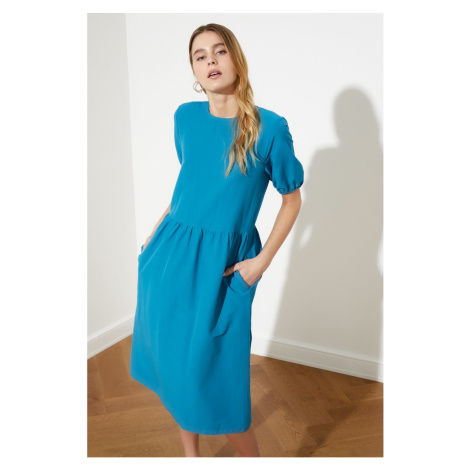 Trendyol Oil Pocket Basic Dress