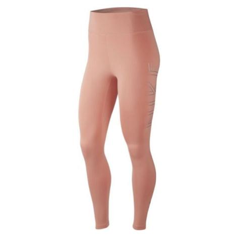 Nike RUN TGHT GX W růžová - Dámské běžecké legíny
