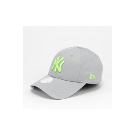 New Era 940W MLB The League Essential NY šedá / neon zelená