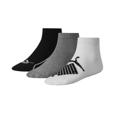 PUMA Ponožky PUMA GRAPHIC QUARTER 3 PACK
