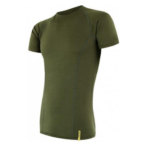 Pánské tričko SENSOR Merino Active safari