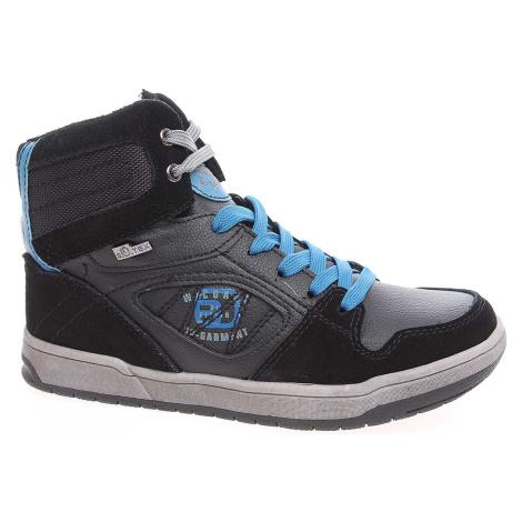 Chlapecká kotníková obuv s.Oliver 5-45303-25 černé