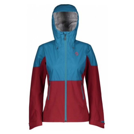 Scott TRAIL MTN STRETCH HYBRID 30 W modrá - Dámská bunda