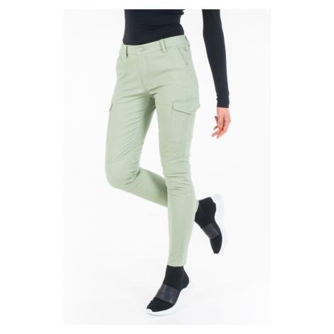 Calvin Klein dámské khaki zelené kalhoty
