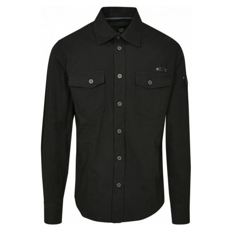 Slim Worker Shirt - black Urban Classics