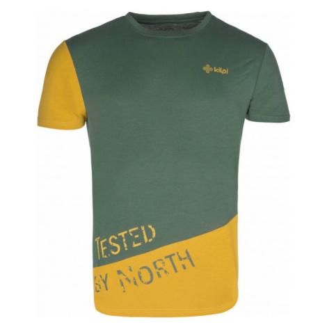 Pánské tričko KILPI CUTTY-M khaki