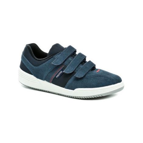 Prestige M40810 modrá pánská obuv Other