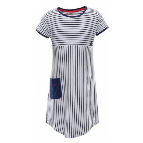 ALPINE PRO Tereso Modrá / Tyrkysově Modrá Dětské letní šaty KSKR067677PA