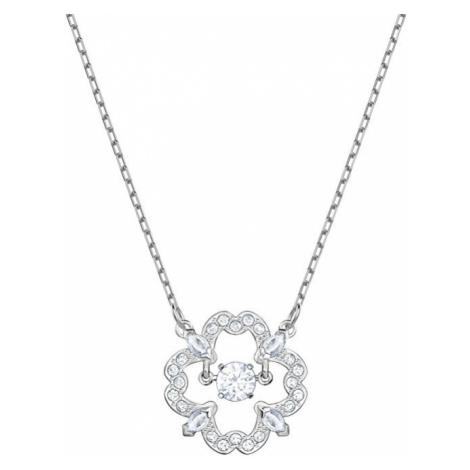 Swarovski Stylový náhrdelník s kytičkou SPARKLING DANCE
