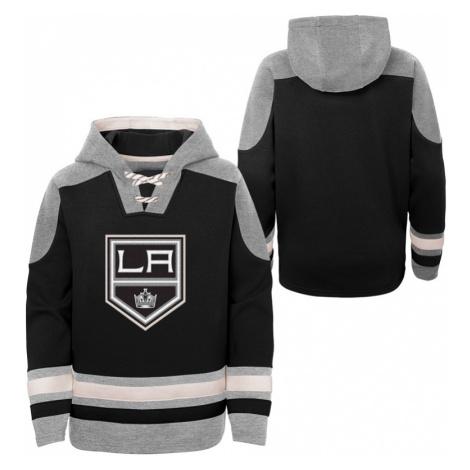 Dětská hokejová mikina s kapucí Outerstuff Ageless must have NHL Los Angeles Kings