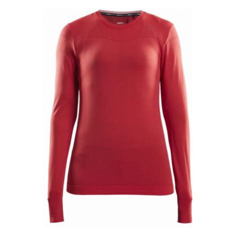 Dámské tričko CRAFT Fuseknit Comfort LS červená