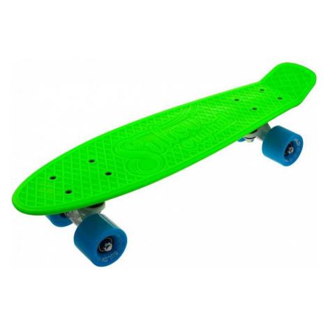 """Penny board 22"""" SULOV NEON SPEEDWAY zeleno-modrý"""
