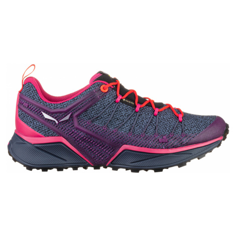 Salewa DROPLINE GTX, Ombre Blue/Virtual Pink Dámské boty