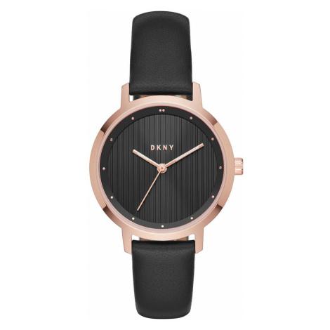 Hodinky DKNY - The Modernist NY2641 Black/Rose Gold