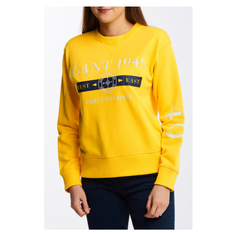 MIKINA GANT D1. NAUTICAL C-NECK SWEAT