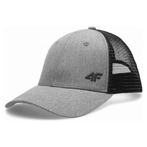 4F CAP CAM003 Šedá