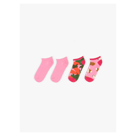 GATE Dva páry kotníkových ponožek
