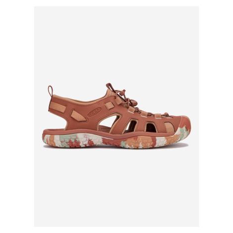 Solr Outdoor sandále Keen Červená