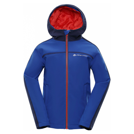 Alpine Pro NOOTKO 2 INS. Dětská Softshellová Bunda