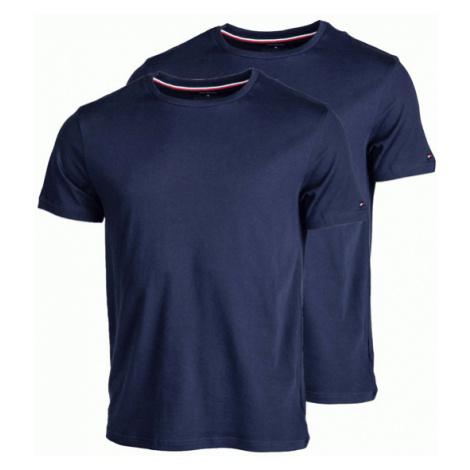 Tommy Hilfiger 2P CN TEE SS tmavě modrá - Pánské tričko
