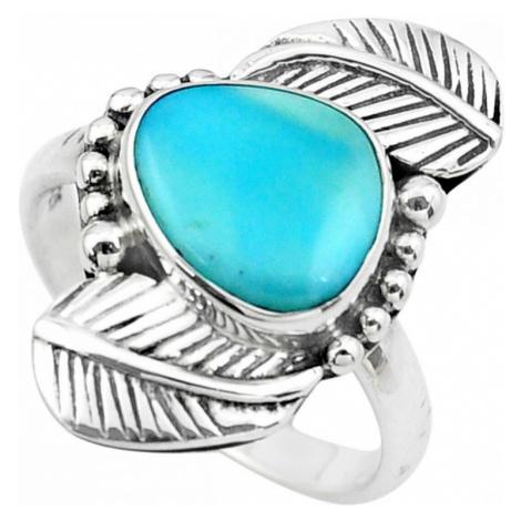 AutorskeSperky.com - Stříbrný prsten s larimarem - S3209