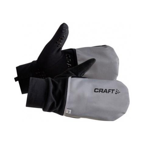 Rukavice CRAFT Hybrid Weather černá/šedá