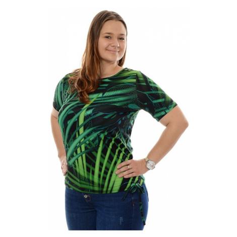 Dámské triko Geisha zelené