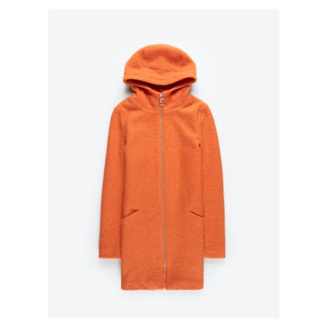 GATE Kabát se zapínáním na zip s kapucí