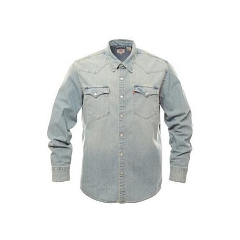Pánská košile Levi´s® Barstow Western světle modrá