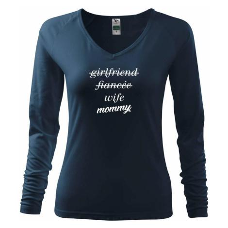 Partnerské triko nastávající rodiče - Triko dámské Elegance