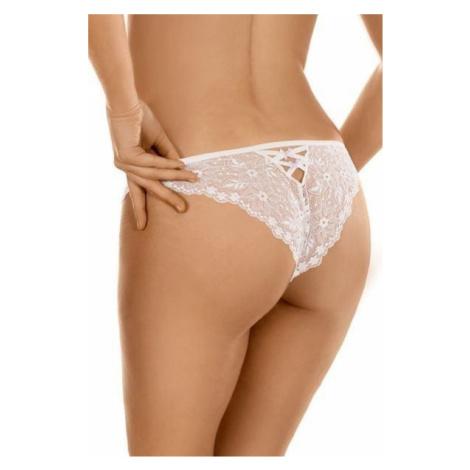 Ewana Krajkové kalhotky brazilky 91 bílé