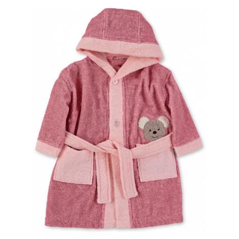 STERNTALER Koupací plášť 'Mabel' růžová / pitaya / šedobéžová
