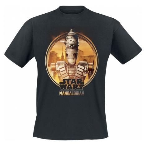 Star Wars The Mandalorian - IG-11 Tričko černá