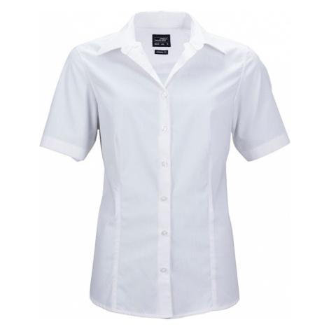 James & Nicholson Dámská košile s krátkým rukávem JN643