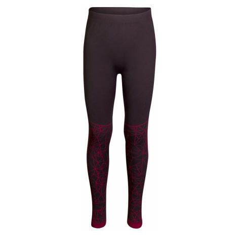 Dětské prádlo - kalhoty Alpine Pro KRATHIOSO 4 - červená