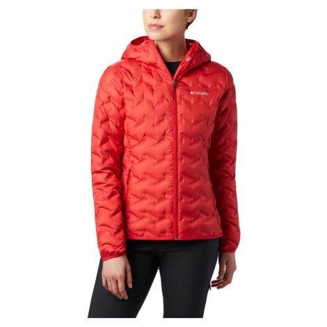 Bunda Columbia Delta Ridge™ Down Hooded Jacket - červená