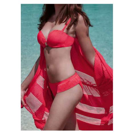 Dámské dvoudílné plavky Lisca 40409 41369 Acapulco | korálová