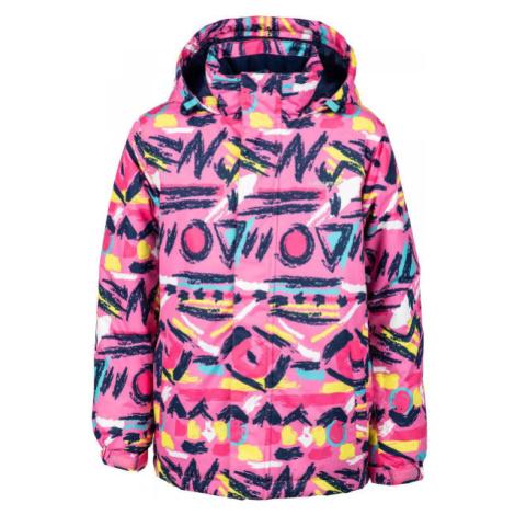 Lewro ANFET růžová - Dětská snowboardová bunda