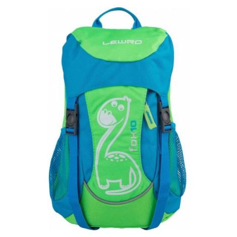 Lewro FOX 10 zelená - Dětský batoh