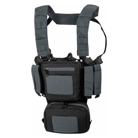 Hrudný nosič Helikon-Tex® Training Mini Rig® – Dvoubarevná černá / Shadow Grey