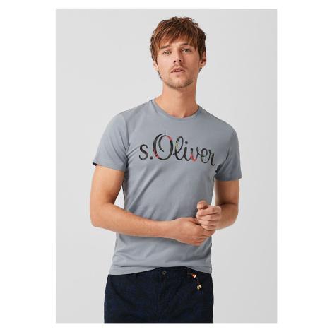 s.Oliver pánské triko s logem 13.905.32.4281/95A1
