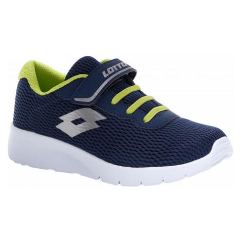 Lotto MEGALIGHT V CL SL modrá - Juniorská volnočasová obuv