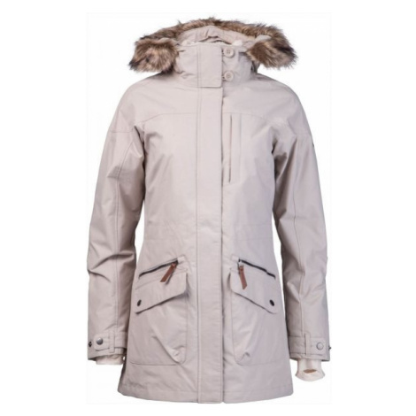 Columbia CARSON PASS IC JACKET béžová - Dámský zimní kabát