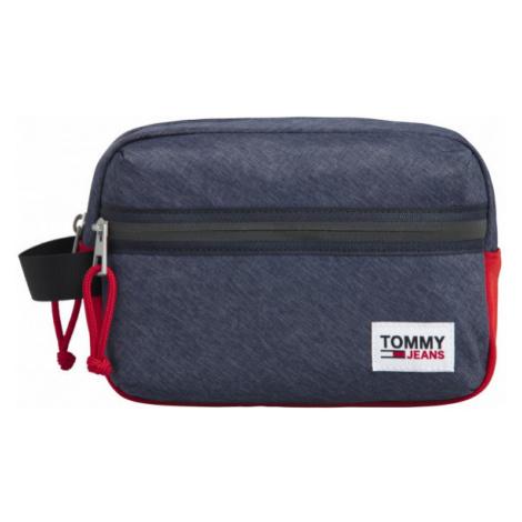 Tommy Hilfiger Tommy Jeans pánská tmavě modrá kosmetická taška COLLEGE TECH WASH BAG