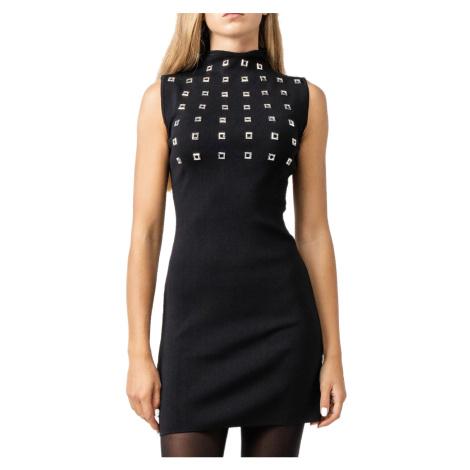 Černé elastické šaty - PINKO