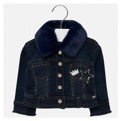 Riflová bunda MAYORAL 2425 | modrá