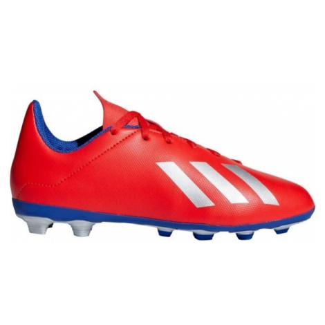 adidas X 18.4 FXG J červená - Dětské kopačky