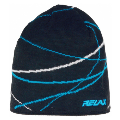 RELAX WAVER Zimní čepice RKH27J tmavě modrá S
